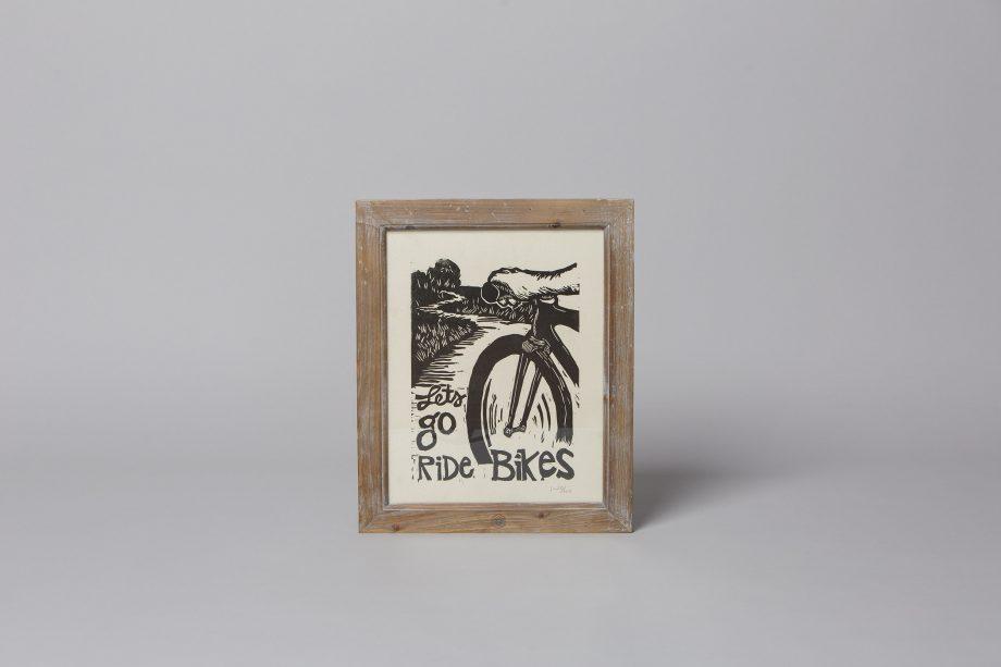 Hand Printed Woodcut